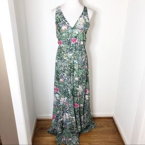 H&M Conscious Collection Tropical Maxi Dress